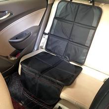 Oxford PVC bawełna skórzana tapicerka samochodowa dziecko dziecko dzieci bezpieczeństwo mata ochronna na siedzenia samochodu ulepszona brud i wodoodporny zmywalny tanie tanio NoEnName_Null Cztery pory roku CN (pochodzenie) 0 6cm 123cm Pokrowce i podpory 0 6kg Przechowywanie i Tidying Podstawowa funkcja