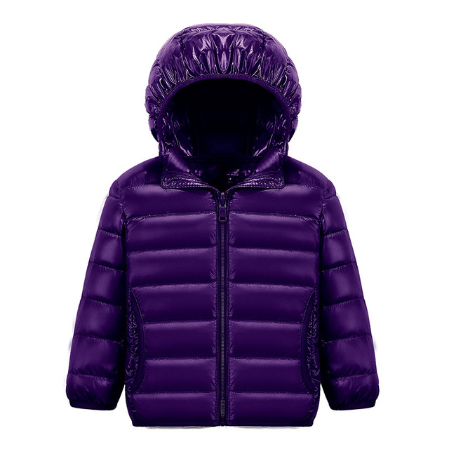 Fashion Kids Down&Parkas Colorful Lingth Warner Winter Down Coat Boys Girls Outerwear  Clothing in Children's  jacket  2016