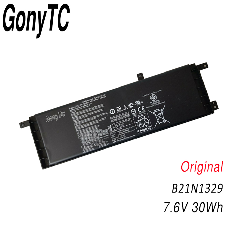 Image 5 - Genuine Laptop Battery B21 N1329 B21N1329 For ASUS Ultrabook X553MA X553M D553MA F553M F553MA X453 X453MA 0B200 00840000-in Laptop Batteries from Computer & Office
