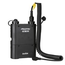 Godox PB960 Flash Power Battery Pack (Black) 4500mAh +Power Cable Cx For CANON Speedlite