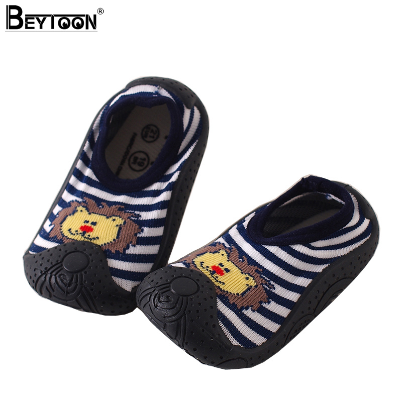 Beytoon Spring Newborn Baby Animal Socks with Rubber Soles ...