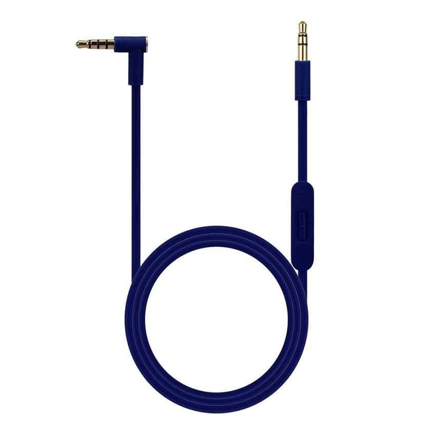 New3.5mm Замена аудио кабель Шнур провода w/Mic для Beats by Dr Dre наушники prolunga usb удлинитель usb кабель mini usb кабель
