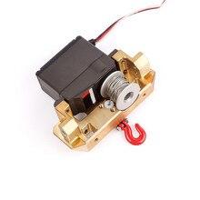 7075# Aluminum Servo Winch Upgrade Accessories For 25T Servo Winch Drum RC Car Parts GAX0136A