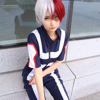 JP Anime Boku No Hero Academia Bakugou Katsuki Iida Tenya Todoroki Shouto Cosplay Costume My Hero
