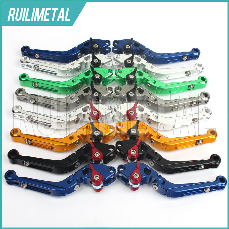 Adjustable Extendable Folding Clutch Brake Levers for KAWASAKI NINJA 250 R 08 09 10 11 12 13 14 Z300 Z-300 Z 300 2015 15