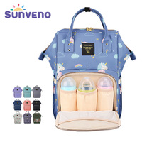 Sunveno Multi Function Mammy Bags Large Capacity Mother Backpack Baby Bag Maternity Nursing Diaper Bag Shoulder