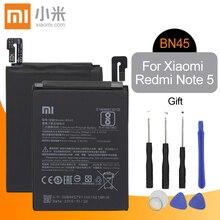 Xiao mi Оригинальный аккумулятор для мобильного телефона BN45 для Xiao mi Red mi Note 5 сменный аккумулятор высокой емкости 3900 мАч + Инструменты