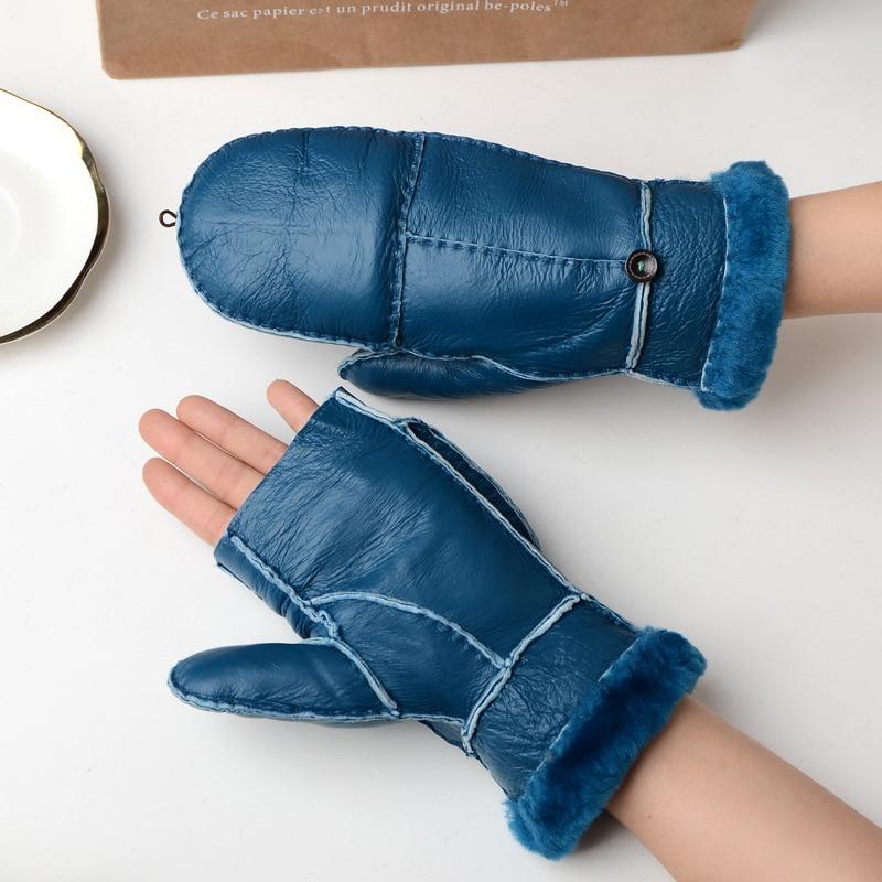 Bekleidung Zubehör Neue Mode Winter Finger Handschuhe Strick Handschuh Kurz Half-finger Handschuhe Weihnachten Der Zubehör Arm Wärmer Kurze Handschuhe ZuverläSsige Leistung