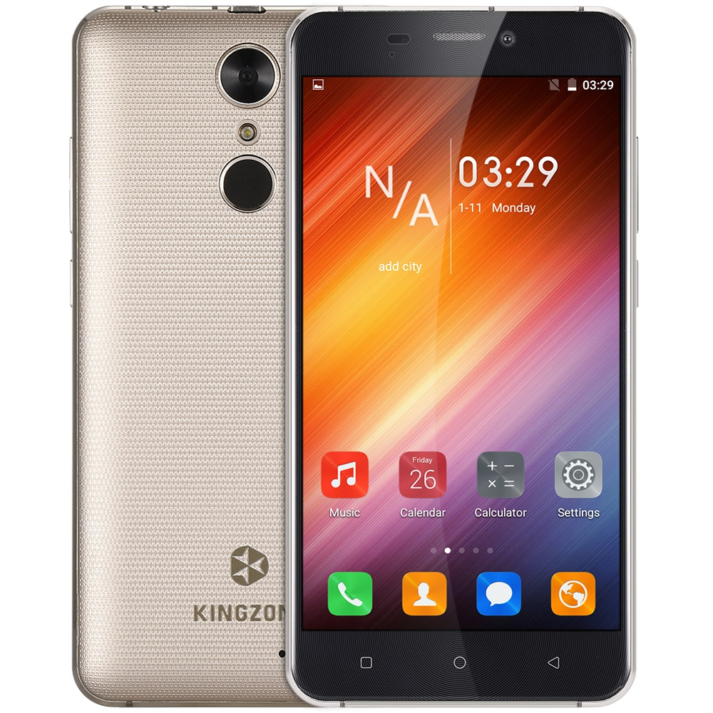 Original KINGZONE S3 3G 5 0 Inch Smartphone Android 6 0 MTK6580 1 3GHz Quad Core