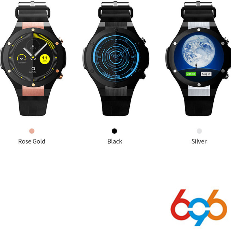 696 H2 Newest Bluetooth Smart Watch MTK6580 ROM RAM 16GB 1GB 5MP Camera Heart Rate Smartwatch GPS WIFI 3G Smart Wristwatch crcular shape no 1 d5 android 4 4 bluetooth gps smart watch with heart rate monitor google play gps 4g rom 512m ram smartwatch