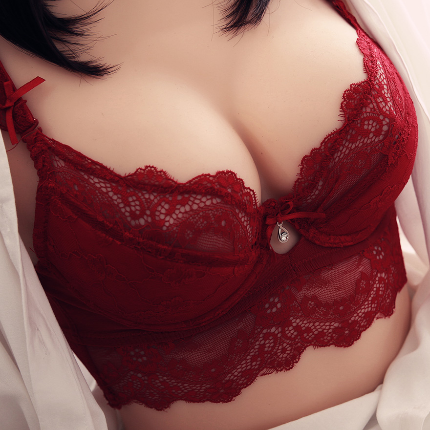 Sexy   Bra     Sets   Plus Size C D Cup Thin Cotton Underwear Women   Set   Lace Comfortable Brassiere Gray   Bras   Embroidery Lingerie