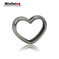 Genuine 925 Sterling Silver In Your Heart Pendant Charms Fit European Troll Necklace Jewelry Only Pendant