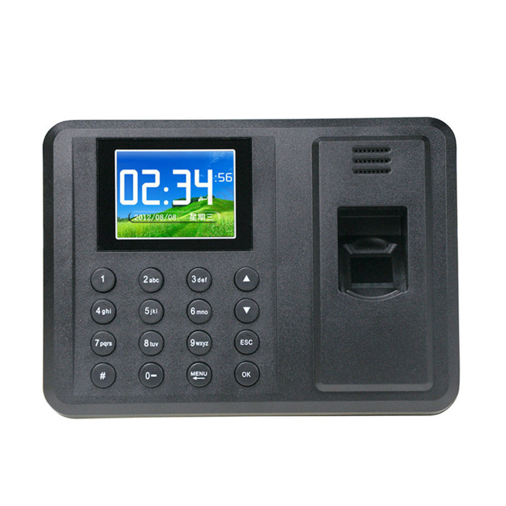 DANMINI Biometric Fingerprint Access Control Machine Punch USB Time Clock Office Attendance Recorder Timing Employee RFID Reader biometric time attendance fingerprint time recoorder time clock for office employee with usb support english language