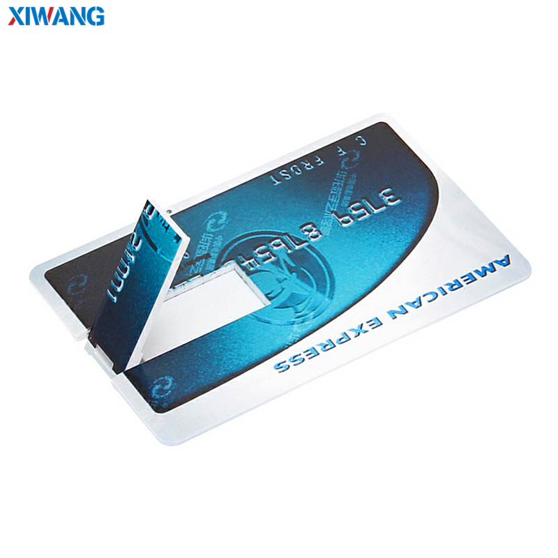 Image 2 - XIWANG hot sale USB Flash Drive credit card 128GB 64GB 32GB 16GB 8GB 4GB USB 2.0 Pen drive Pendriv portable HSBC cards best gift-in USB Flash Drives from Computer & Office