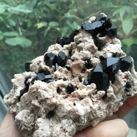 255g Natural Crystal Products Black Quartz Crystal Cluster Specimen Reiki Stone Natural Minerals And Stone Quartz