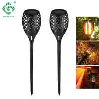 LED Garden Lamps Solar Dancing Flame Outdoor Waterproof Lights Flicker IP65 Lawn Decor Lamp Landscape Path Backyard Lighting