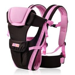 0-30 miesięcy oddychający przodem do świata nosidełko dla dziecka 4 w 1 niemowlę wygodna chusta do noszenia dziecka Wrap Baby kangur G0081