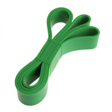 Green 2080*0.45*45MM Film Yoga Belt Tension Elastic Belt Strap Can Thin Curly Stretch Belt Yoga Rope