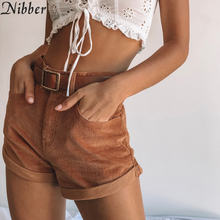 Nibber white cute denim shorts women summer fashion Street style casual shorts 2019hot ladies Beach leisure vacation mini shorts(China)