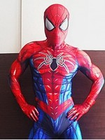 All New Spider Man Suit Cosplay Costume 3D Spandex Spiderman Zentai Bodysuit