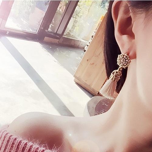 Flower Ancient Drop Earrings