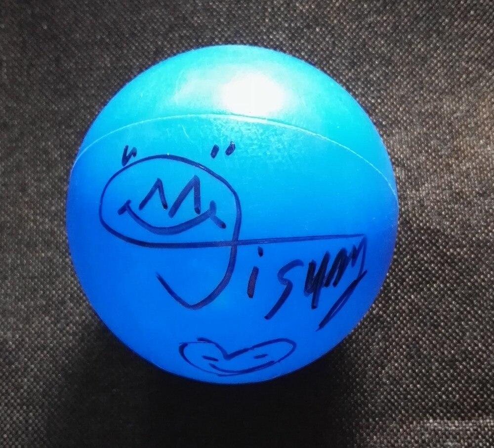 Signée à la main NCT RÊVE Jisung Défonceuse Ji sung autographiée concert balle K-POP 122018