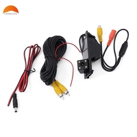 Led Light Car Rear View Camera Reverse Backup Camera For Hyundai Tucson IX35 CCD Night Vision