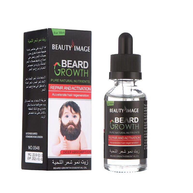 Faster Growth Beard Oil Essence Enhancer Professional Men Facial Nutrition Moustache Grow Beard Shaping Tool Beard care