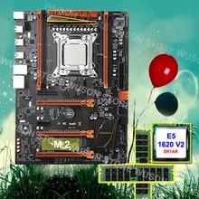 Trustworthy PC hardware supplier HUANAN ZHI Deluxe X79 motherboard processor Xeon E5 1620 V2 3.7GHz RAM 16G(2*8G) DDR3 1600 RECC