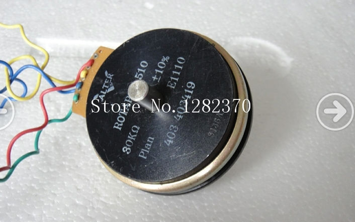 [BELLA] Imported French ALTER ROTAPOT 510 30K conductive plastic potentiometer[BELLA] Imported French ALTER ROTAPOT 510 30K conductive plastic potentiometer