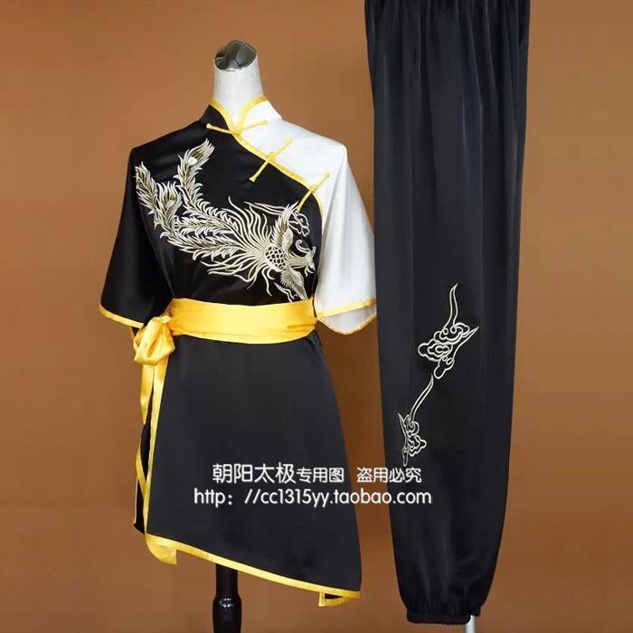 Customize Chinese wushu uniform Kungfu font b clothing b font Martial arts suit taolu outfit for