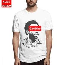 Childish Gambino T-shirt Great Homme Tee Shirt Round Collar Free Shipping