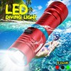 IPX8 Scuba Diving Light 100 Meter L2 Waterproof Underwater LED Flashlight Diving Camping Lanterna Torch With Stepless dimming