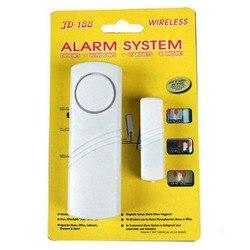 Janela da porta sem fio alarme do assaltante com sensor magnético janela porta entrada anti ladrão sistema de alarme em casa dispositivo de segurança atacado