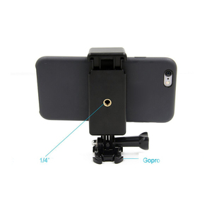 Image 5 - Monopods Clip Camera Accessory Portable Extendable Tripod Adapter Mount Adjustable With 1/4 Screw Hole Phone Holder For GoPro