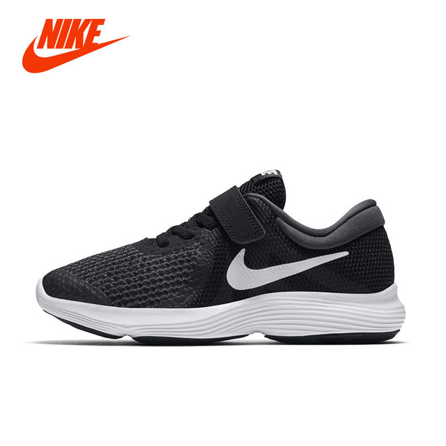 NIKE Original NIKE REVOLUTION 4 (PSV) Boys Kids Running Sneakers Summer Air  Children Lightweight Breathable Sport Casual Shoe 7535aa457