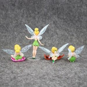 Image 3 - 4 Cái/lốc Hình Công Chúa Đồ Chơi Tinkerbell Cổ Tích Quốc Bộ Cho Trẻ Em Quà Tặng Sinh Nhật