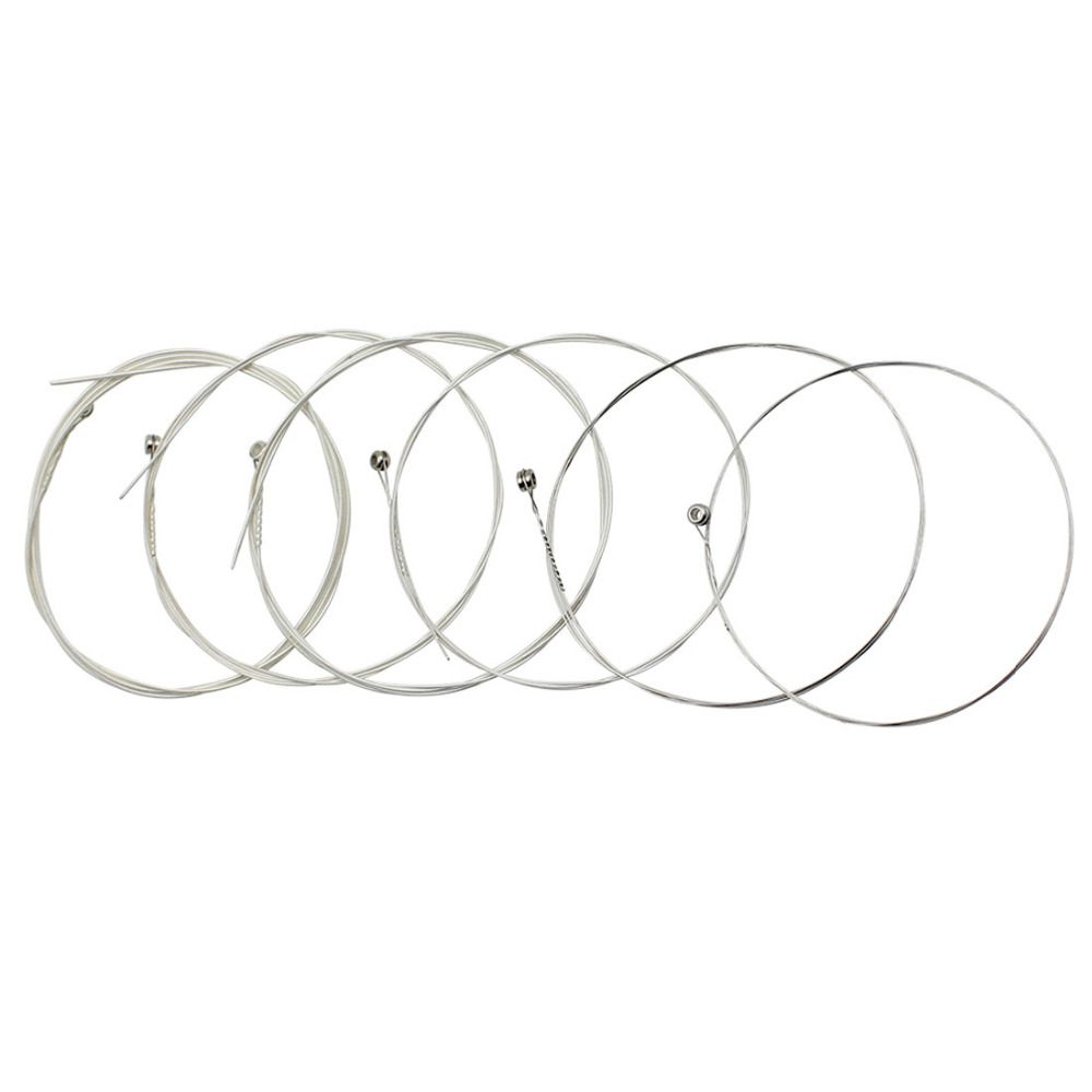 IRIN A104 Silver Plated Copper Alloy Music Instrument Strings Set Replacement For Acoustic Guitar 0.010-0.047 Inch
