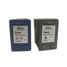 1Set Ink Cartridge for hp 21 22 xl for hp Deskjet F2280 F380 F2100 F2110 F2240 F2280 F2250 F4100 F370 D1360 D2360 D2460 3910 391 чернила inksystem для фотопечати на hp deskjet f2280 фоточернила