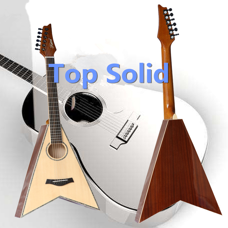 Acoustic Guitar Top Solid Electric Balladry Folk Flattop 41 Inch Jackson Picea Asperata Mahogany Guitarra 6 String Light Electro jackson x series dinky arch top dkaf7 ms dark rosewood stained mahogany