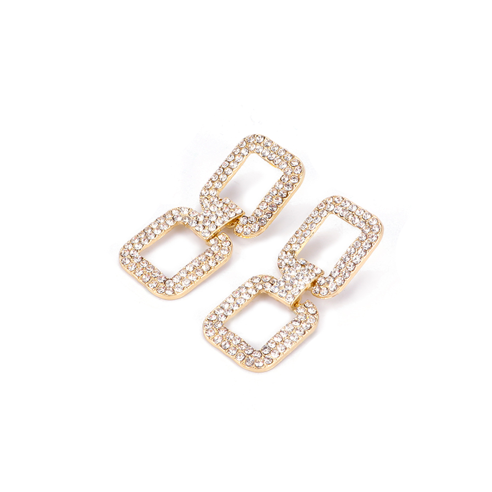 Simple Drop Earrings Jewelry for Women Exaggerated ...