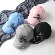 купить Big Bow Baseball Cap Men Women Hat bone Snapback Caps Bandages Baseball Dad Hat Fashion Hip Hop Cap Girl Men gorras по цене 455.27 рублей