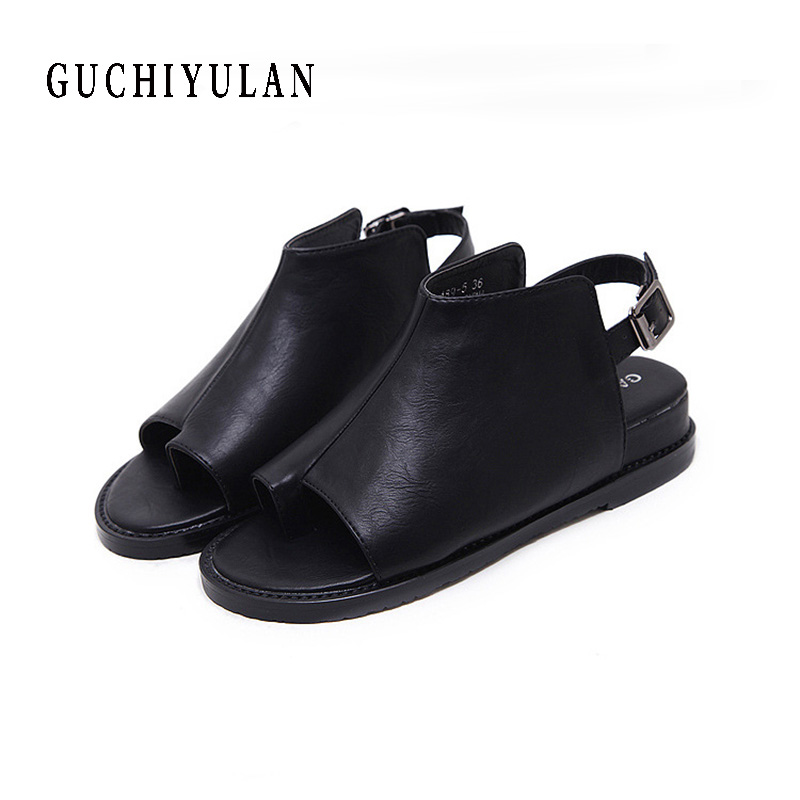 sexy fashin sandals woman 2017 summer Casual wedges heels gladiator party shoes Comfortable genuine leather buckle sandals black choudory bohemia women genuine leather summer sandals casual platform wedge shoes woman fringed gladiator sandal creepers wedges