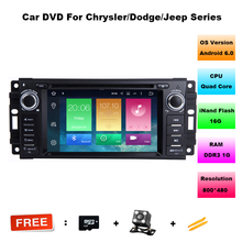 6.2″ Octa-Core Android 6.0 OS Special Car DVD for Jeep Patriot 2009-2011 & Chrysler 300C 2008-2010 & Chrysler Sebring 2007-2010