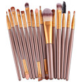 U 15 pcs Makeup brushes sets Pro hair eyebrow foundation brush pen cleaner Cosmetics maquiagem Blusher cosmetics Drop Shipping