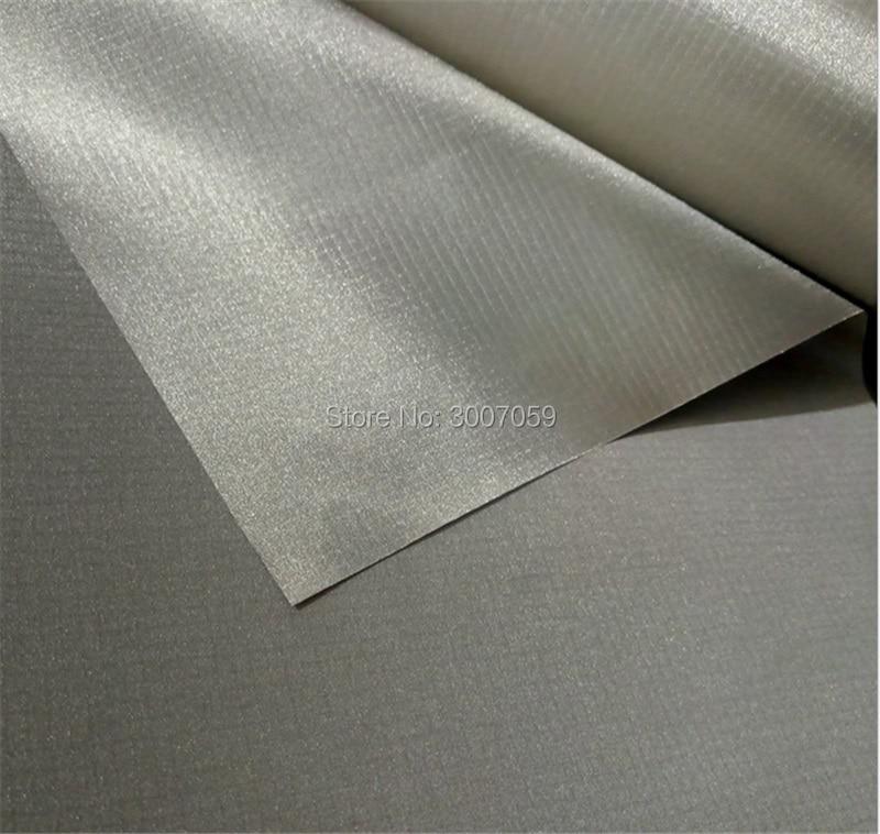 Nikel Tembaga RFID Memblokir kain EMF perisai bahan kain Konduktif termal