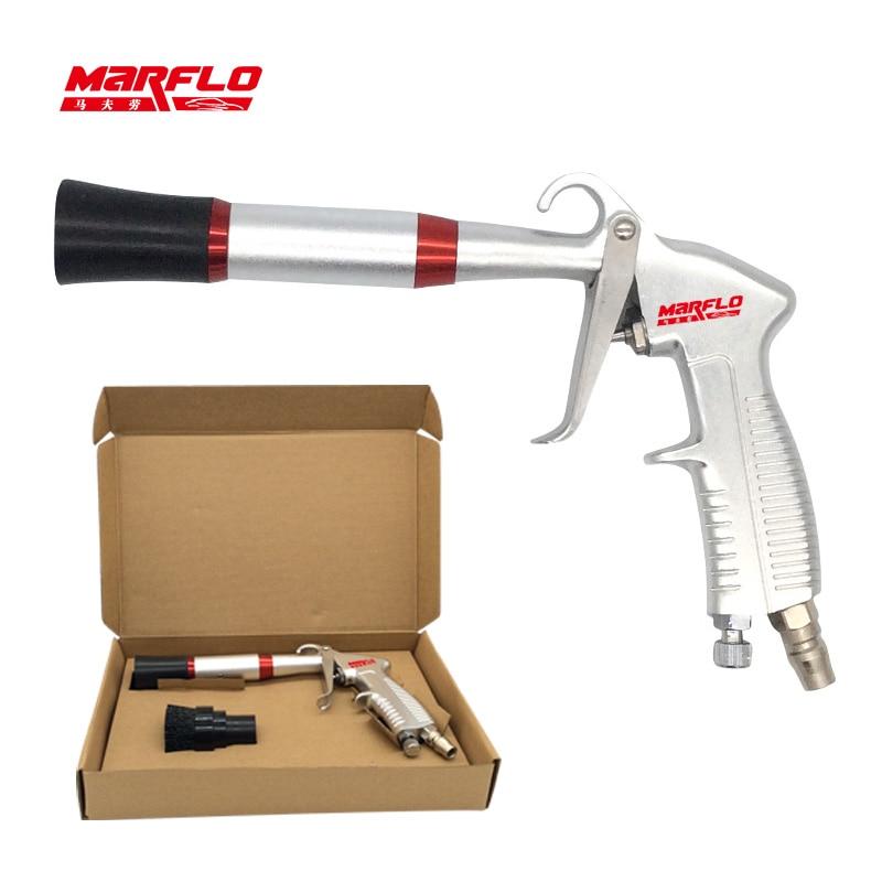 MARFLO Car Wash Gun Tornado Aluminium Alloy Air Regulator Clean Tornado Steel Bearing High Qaulity by