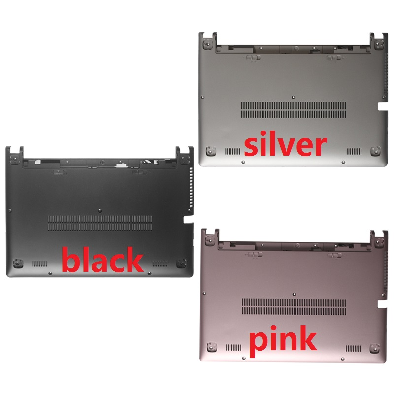купить New Bottom case for Lenovo ideapad M30-70 Laptop Bottom Base Case Cover silver/black/pink