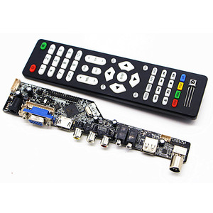 V53 Upgrade V56 V59 Universal LCD TV Controller Driver Board PC/VGA/HDMI/USB Interface(China)