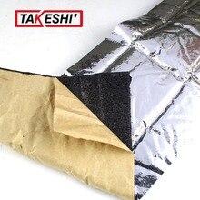 Car Styling 200*100cm 10mm Thick Heat Killer Sound Insulation Self-adhesive Noise Deadener Muffler Shield Mat Foil Doors/Roof